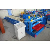 Quality Roman Type Popular Glazed Tile Roll Forming Machine / Cold Roll Forming Machine for sale