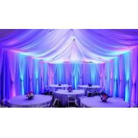 Quality Wedding backdrop decoration Telescopic poles pipe and drape stage backdrop event pipe and drape custom pipe and drape for sale