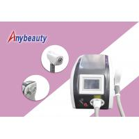 Quality Nd : Yag Laser Tattoo Removal Machine Air + Water + Temperature Control Cooling for sale