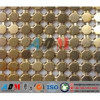 Quality Architectural Decorative Metal Mesh Curtain, Metal Drapery, Anping Wire Mesh Curtain for sale