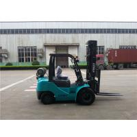 Automatic Transmission Lp Gas Forklift Unloading Truck Dual Front Tires