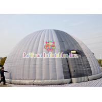 Quality Light Weight Outdoor Inflatable Tent Safe Customized Zipper Flaps for sale