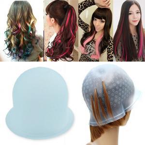 Quality Reusable Rubber Hair Dye Cap , Magicap Elite Highlighting Cap Comfortable for sale