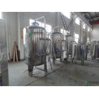 Quality Mineral Water Purifying Machine Semi Automatic UF Water Treatment for sale