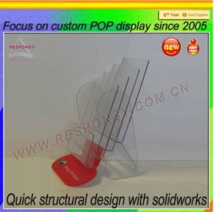 Quality Acrylic brochure display/brochure display stand/brochure display holder for sale