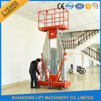 Quality High Strength Aluminum Alloy Mobile Lifting Table , Electric Hydraulic Motorcycle Lift Table for sale