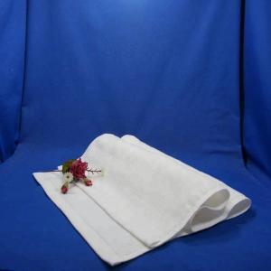 Quality 30x70cm White Cotton Face Towel for sale