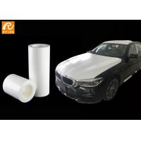 Quality White Color Automotive Protective Film Polyethylene Material Medium Adhesion for sale