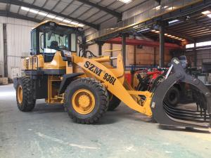 Quality SZM936L 92kw 3 Ton Wheel Loader With 3m3 Bucket for sale
