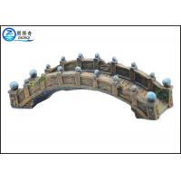 Buy Old Medium Bridge Type Aquarium Resin Ornaments Durable For Hotel Decorations at wholesale prices