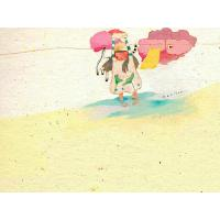 Quality cartoon painting windmill painting wall art for sale