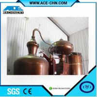 Quality Copper Alcohol Distillation Equipment System For Sale & Copper Whiskey Still Equipment For Sale for sale
