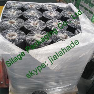 Quality Black/Orange Silage Wrap Film, 500mm*25mic*1800m, Recycle 100%LLDPE Film for hay, corn, Bundesrepublik Deutschland for sale