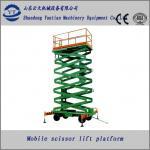 Quality mobile hydraulic scissor lift platform for  line maintenance for sale
