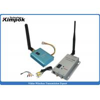 Quality 800m CCTV Wireless Video Transmitter 2.4Ghz FPV Sender With 12 Channels for sale