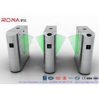 Quality Flap Barrier Gate Security Subway Turnstile Barrier Gate Automatic Half Height Turnstile for sale