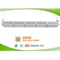 Quality Bright 500w Led Linear High Bay /  Linear Led Fixtures For Workshop With High Ceiling for sale