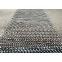 Quality Heat Resistance Stainless Steel Wire Mesh Conveyor Belt With Chain for sale