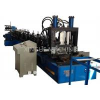 Buy 80-300mm CZ Purlin Roll Forming Machine For 1.5-4mm Thickness Purlin at wholesale prices