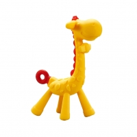 Quality Giraffe Baby Teether Toy ,Natural & Organic BPA-Free Silicone , Textured Infant Teething Relief for sale