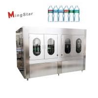 Quality Automatic Industrial Plastic Bottle Filling And Sealing Machine For Drinking Water for sale