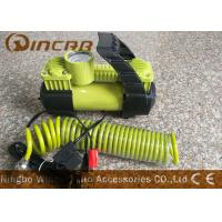 Quality Car 12v Portable Air Compressor Metal Material With 2 * 30mm Double Cylinder for sale