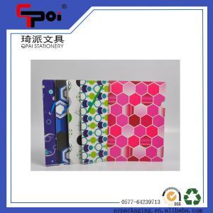 Quality Wholesale PP Stationery Elastic Printing File Folder Document File Folder for sale