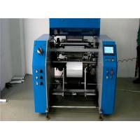 Quality 5 Shafts Automatic PE Cling Stretch Film Rewinding Machine , High Speed for sale
