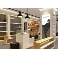 Buy Wooden Plus Veneer Shoe Display Fixtures Design With Dis - Assembly Structures at wholesale prices