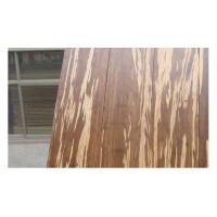Quality Hot selling strand woven bamboo flooring with tiger color on surface for sale