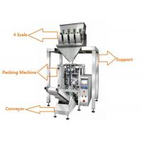 Quality 1kg 2kg 5kg Rice Multihead Weigher Packing Machine With Schneider Touch Screen for sale