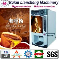 Quality instant coffee making machine raw material 3 in 1 microcomputer Automatic Drip coin operated instant for sale