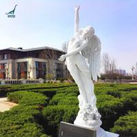 Quality Customized outdoor decoration garden resin angel statue for sale