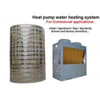 Quality Big Air Source Heat Pump Water Heater , Commercial Water Heater For Hotels for sale