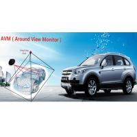 Quality Ultra - wide angle 4 camera car system , wireless car surveillance camera 360 degree for sale