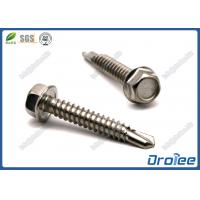 Quality Stainless Steel 410 Indented Hex Washer Head Self Drilling Tek Screw for sale