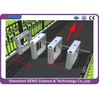 Quality Fingerprint security access gates , automatic systems entrance stadium turnstile for sale
