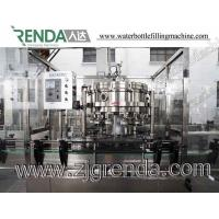 China CO2 Carbonated Drinks Can Filling Machine Commercial Bottling Equipment For Cans 1000 ml Stainless Steel for sale