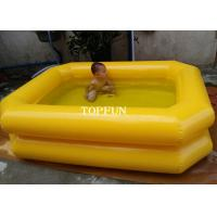 Buy Double Tubes 0.65m High Kids Swimming Pool Inflatable PVC Tarpaulin at wholesale prices