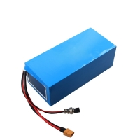 Quality Portable 17.5Ah 52v Lithium Battery Pack , li ion rechargeable battery for sale