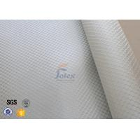 Quality Satin Weave 220gsm Silver Coated Fabric Fiberglass Cloth Thermal Insulation for sale