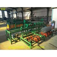 Quality PLC control Full Automatic double wire feeding chain link fence machine with best price for sale