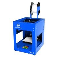 Quality desktop mini size 3d printer super quiet printing  stainless steel metal frame  fully assembled promote price for sale