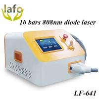 Quality 10 Bars Professional 808nm diode laser hair removal permanent best hair removal machine for sale