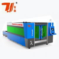 Quality SS Fiber CNC Laser Metal Cutting Machine With 8mm Steel Structure for sale
