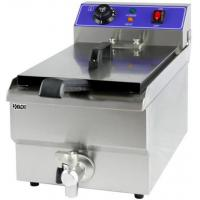 Quality Commercial Electric Fryer with Tap 10 Liter Stainless Steel Electric Fryer FMX-WE1254 for sale
