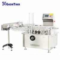 Quality 1.5kw Automatic Carton Box Packing Machine 40-80 Box/Min Boxing Speed for sale