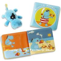 Quality PVC educational baby bath book for sale