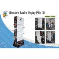 Buy 4C Boots Cardboard Floor Display Stands For Chain Store Promotion at wholesale prices