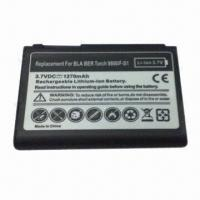 Quality Mobile Phone Battery for BlackBerry 9800, Fully Decoded 1270mAh Battery Replaces F-S1 for sale